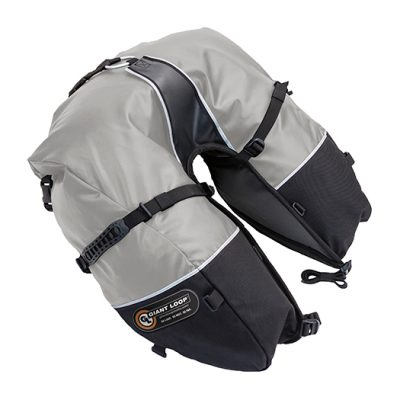 CSB17-RT-G-Coyote-SADDLEBAG-Roll-Top-Gray