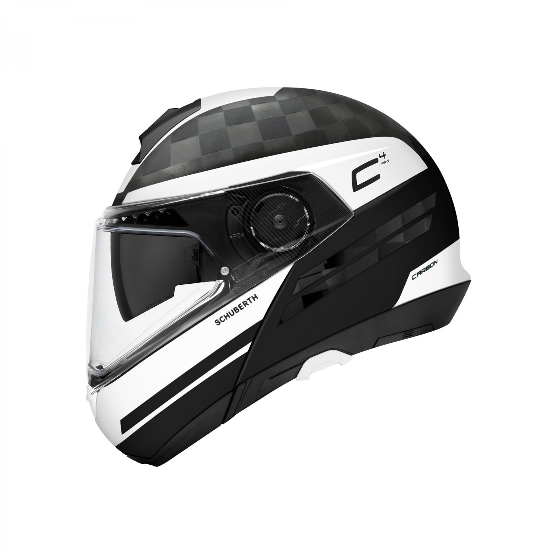schuberth c4 pro carbon tempest white moto adventure store. Black Bedroom Furniture Sets. Home Design Ideas