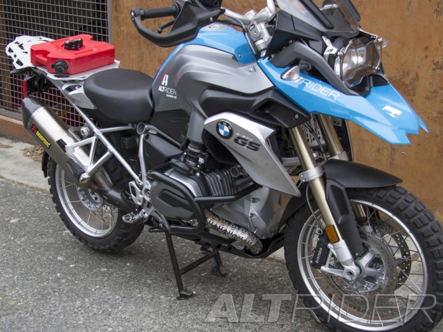 Installed Altrider Crash Bars For The Bmw R