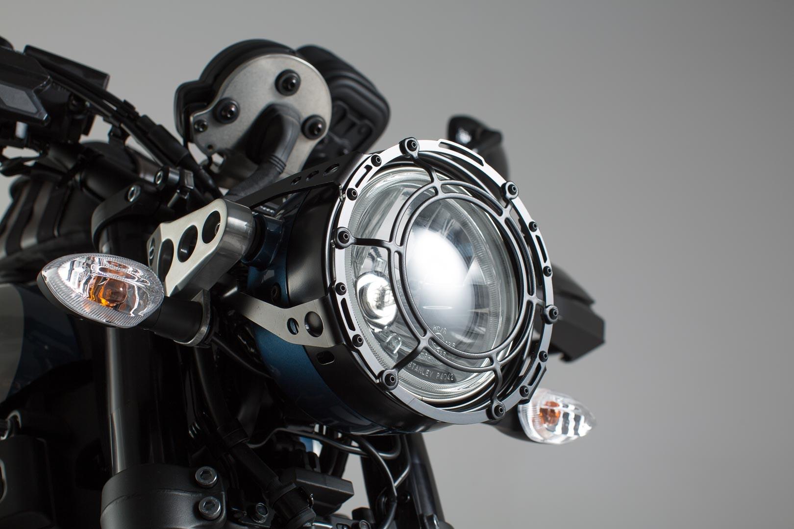 Yamaha XSR 900 16 Lps 06 599 10000 B 1 Scheinwerferschutz Schutzgitter Schwarz