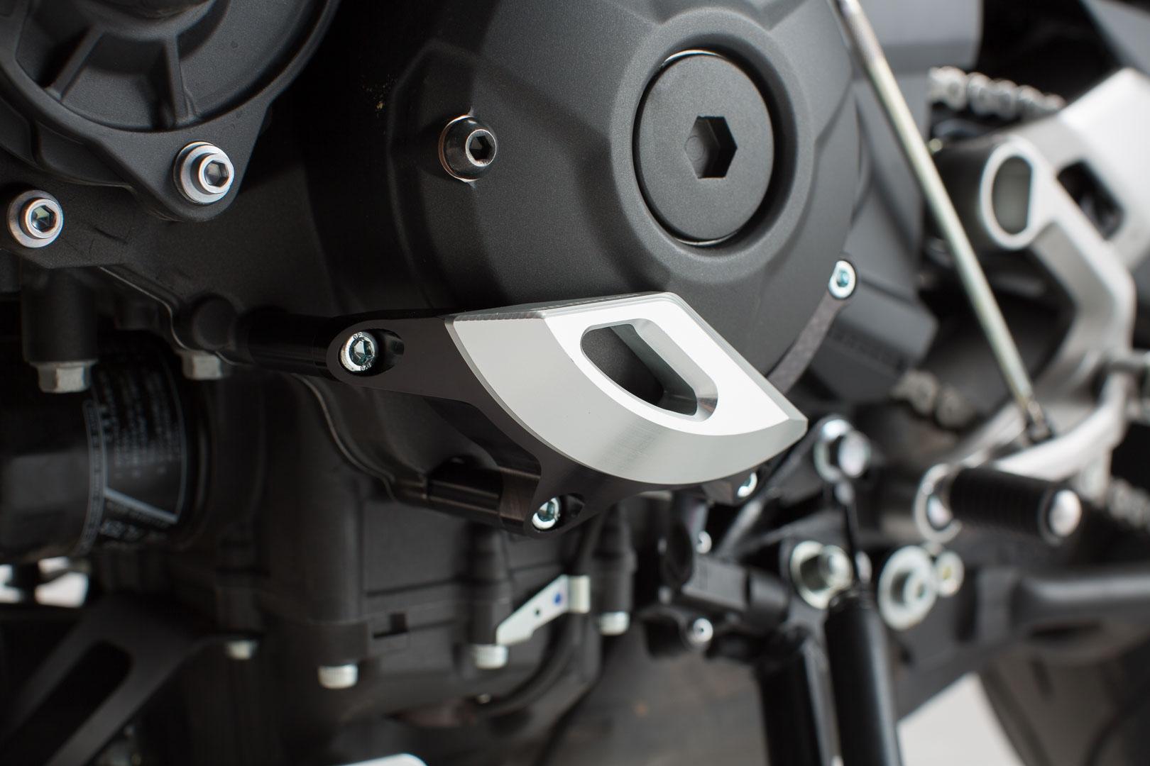 Mss 06 599 10100 Motorgeh Usedeckel Schutz Schwarz Silbern XSR900 16 MT 09 Tracer 14